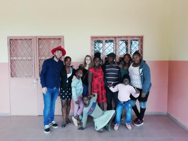 Franziska in Kamerun